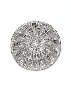 Adriana Orsini - Pav&eacute; Crystal Sunburst Pin