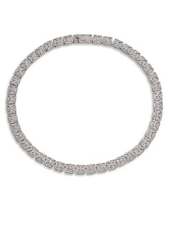 Adriana Orsini - Pavé Crystal Link Collar Necklace