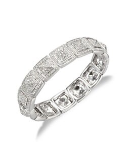 Adriana Orsini - Pav&eacute; Crystal Link Bangle Bracelet