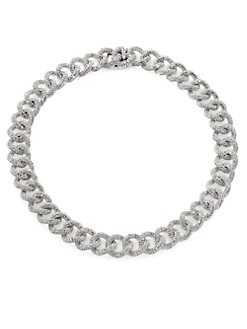 Adriana Orsini - Pavé Large-Link Chain Necklace