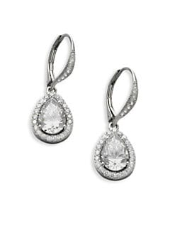 Adriana Orsini - Framed Teardrop Earrings