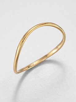 Adriana Orsini - Thin Wave Bangle