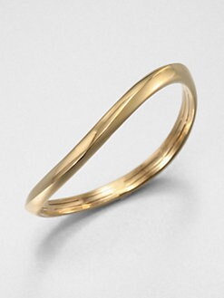 Adriana Orsini - Wide Wave Bangle