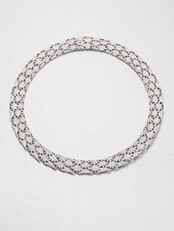 Adriana Orsini - Pavé Crystal Fan Collar Necklace