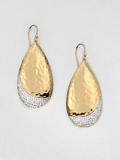 Adriana Orsini - Pavé Large Drop Earrings