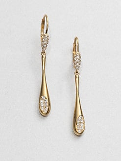 Adriana Orsini - Linear Crystal Drop Earrings