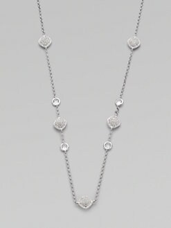Adriana Orsini - Stone Accented Station Necklace