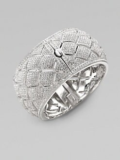 Adriana Orsini - Pav&eacute; Snakeskin-Inspired Bangle Bracelet