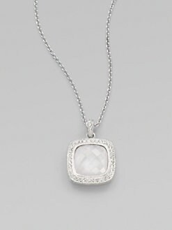 Adriana Orsini - Stone Accented Doublet Pendant Necklace