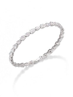 Adriana Orsini - Faceted Bangle Bracelet