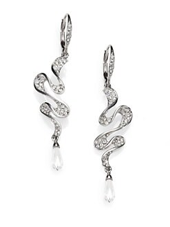 Adriana Orsini - Faceted Ruffle Drop Earrings