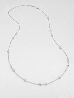 Adriana Orsini - Crystal Accented Long Station Necklace