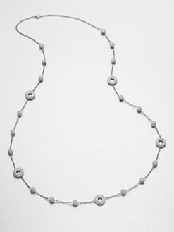 Adriana Orsini - Crystal Accented Ball & Circle Station Necklace