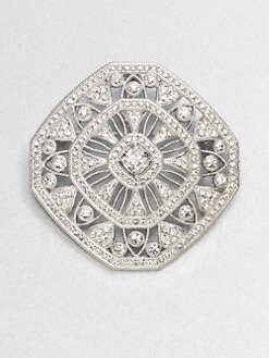 Adriana Orsini - Pav&#233; Openwork Pin
