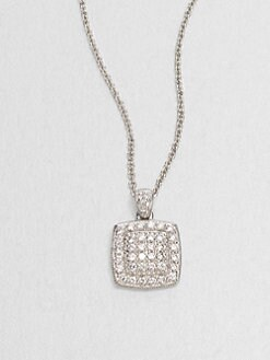 Adriana Orsini - Squared Sterling Silver Necklace