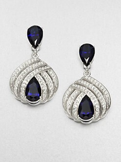 Adriana Orsini - Deco Triple Row Drop Earrings
