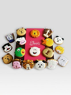 Eleni's New York - Animal Faces Cookie Collection