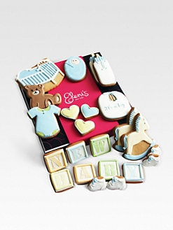 Eleni's New York - New Baby Boy Cookie Collection