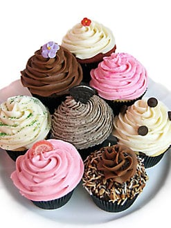 SAS Cupcakes - Best Sellers Cupcake Collection