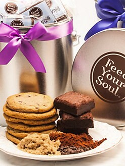 Feed Your Soul - Cookie/Brownie Tin