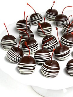 Golden Edibles - Belgian Chocolate-Covered Maraschino Cherries