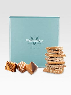 V Chocolates - Assortment of Caramels w/Nuts & Almond Toffee