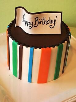 Elegant Cheesecakes - Triple-Chocolate Birthday Cheesecake