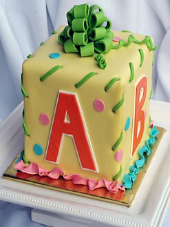 Elegant Cheesecakes - Baby Block Cake
