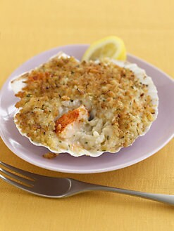 Hancock Gourmet Lobster Co. - Lobster Risotto on the Half Shell