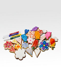 Eleni's New York - Color Me! Hearts & Flowers Cookies