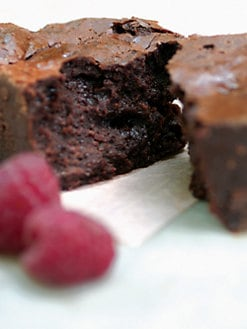 Blissful Brownies - Chocolate-Raspberry 6-Brownie Box