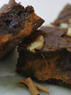 Blissful Brownies - Pumpkin Spice 6-Brownie Box