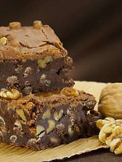 Blissful Brownies - Chocolate-Walnut 12-Brownie Box