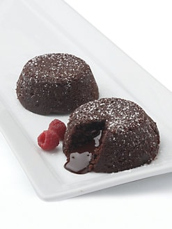 Galaxy Desserts - Chocolate Lava Cakes, Set of 6
