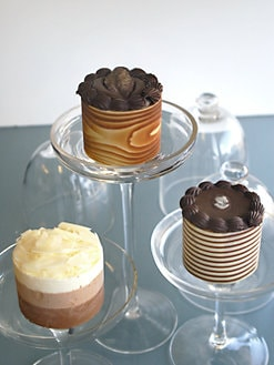 Galaxy Desserts - Trophy Mousse Cake Sampler, Set of 6