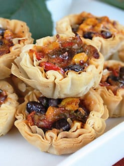 The Perfect Bite Co. - Southwest Phyllo Cups