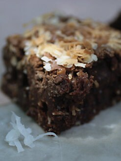 Blissful Brownies - Chocolate Coconut 6-Brownie Box