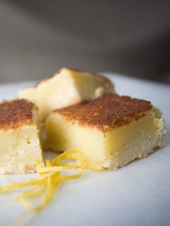 Blissful Brownies - Lemon Bars