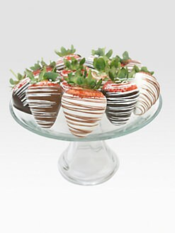 Golden Edibles - Drizzled Chocolate Strawberries
