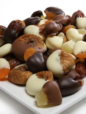 Belgian Chocolate-Covered Dried Fruit