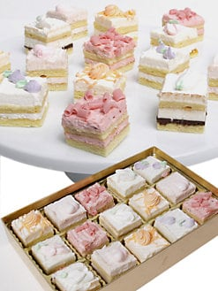 Golden Edibles - Spring Petite Fours