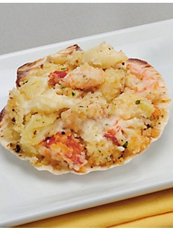Hancock Gourmet Lobster Co. - Shellfish Formaggio On The Half Shell