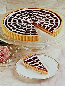 Bittersweet Pastries - Raspberry Almond Tart