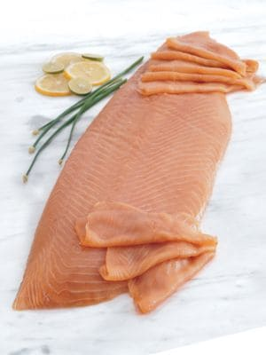 Whole Smoked Salmon