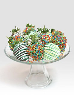 Golden Edibles - Celebration Chocolate Covered Strawberries