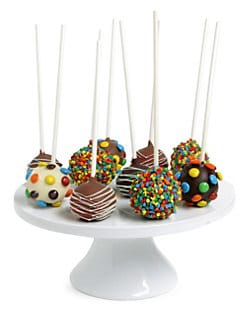 Golden Edibles - Celebration Belgian Chocolate-Dipped Cake Pops