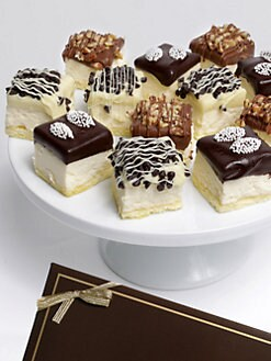 Golden Edibles - Belgian Chocolate-Dipped Cheesecake Bites With Toppings