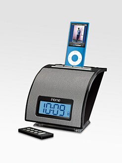iHome - Spacesaver Alarm Clock for iPod?