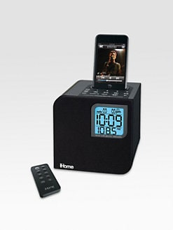 iHome - Spacesaver Dual Alarm Clock Radio for iPod?