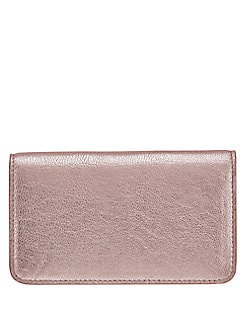 GiGi New York - Metallic Leather Wallet
